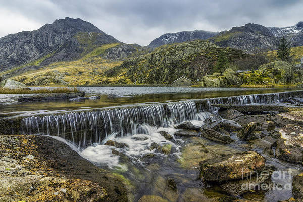 Photograph - Llyn Ogwen Weir by Ian Mitchell