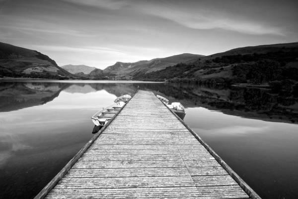 Photograph - Llyne Nantile Jetty by Stephen Taylor
