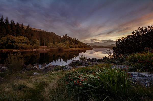 Photograph - Llynnau Sunset by Beverly Cash