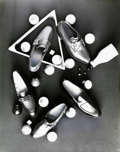 Photograph - Loafers With Pool Equipment by Leonard Nones