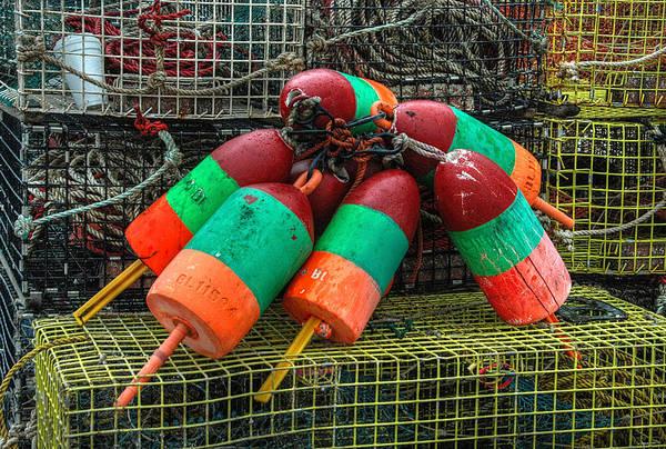 Photograph - Lobstah Bouys by Michael Kirk