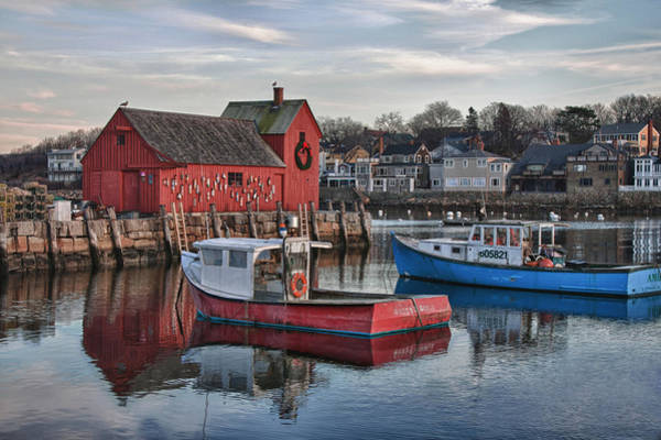 Photograph - Lobster Boats At Motif 1 by Jeff Folger