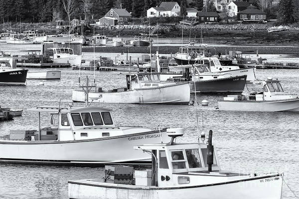 Photograph - Lobster Boats In Bass Harbor II by Clarence Holmes