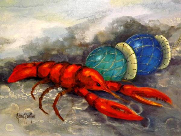 Painting - Lobster Fest by Gary Partin