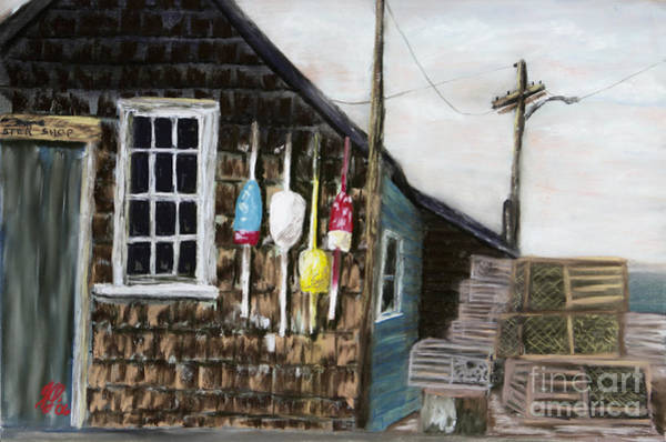 Pastel - Lobster Shack 3 by Francois Lamothe