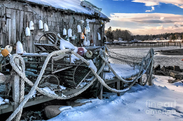 Photograph - Lobster Shack At Cape Neddick  by T-S Fine Art Landscape Photography