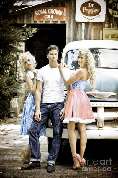 Wall Art - Photograph - Local Country Store Pinup by Jt PhotoDesign