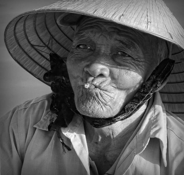 Photograph - Local River Man by Kim Andelkovic