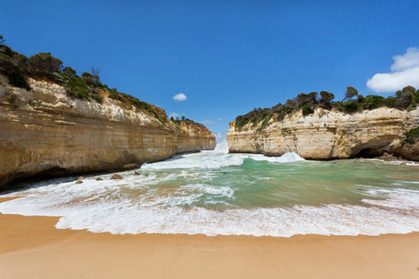 Geomorphology Wall Art - Photograph - Loch Ard Gorge, Great Ocean Road by Martin Zwick