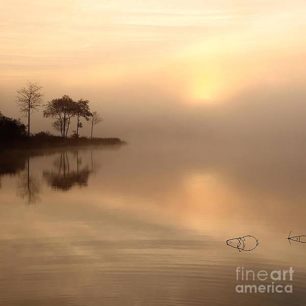 Photograph - Loch Ard Sunrise by Maria Gaellman
