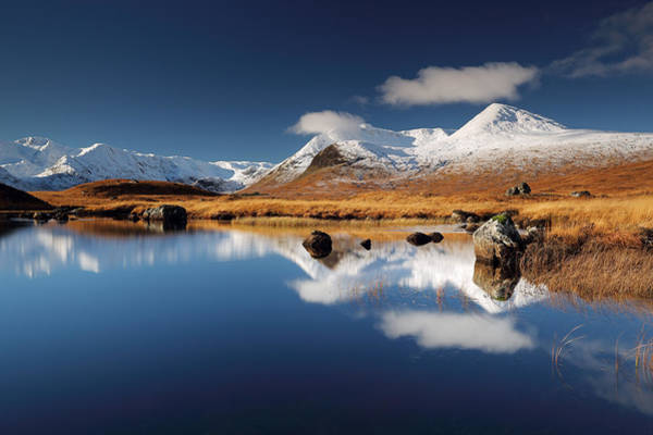 Photograph - Loch Ba by Grant Glendinning