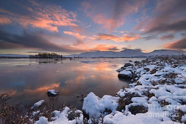 Moor Photograph - Loch Ba by Rod McLean