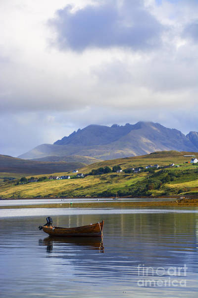 Whiskey Hill Wall Art - Photograph - Loch Harport And The Cuillins by Chris Thaxter