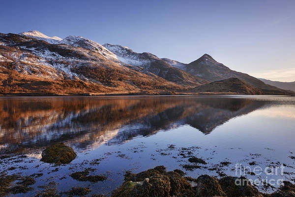 Glencoe Photograph - Loch Leven And The Pap Of Glencoe by Rod McLean