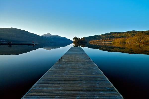 Loch Lomond In The Morning Art Print