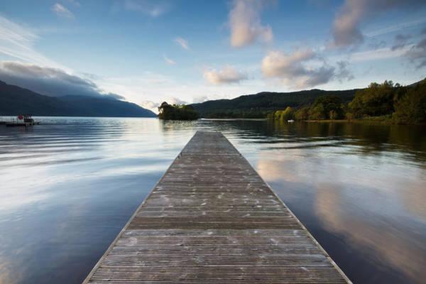 Photograph - Loch Lomond Jetty by Stephen Taylor