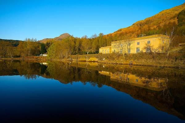 Photograph - Loch Lomond Power Station by Stephen Taylor