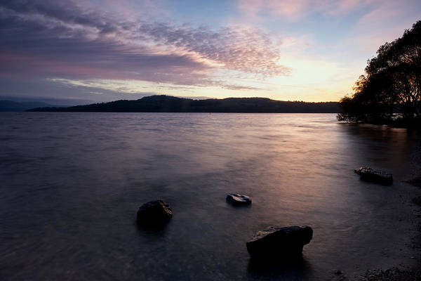 Photograph - Loch Lomond Sunrise by Stephen Taylor