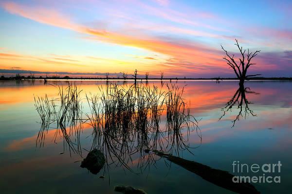 Wall Art - Photograph - Loch Luna Sunset by Bill  Robinson