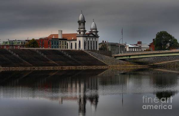 Lock Haven Wall Art - Photograph - Lock Haven Courthouse Reflections by Adam Jewell