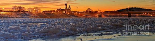 Lock Haven Wall Art - Photograph - Lock Haven Winter Sunset by Adam Jewell