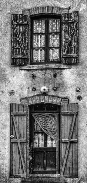 Wall Art - Photograph - Lock House Craftmanship by Keith Hutchings