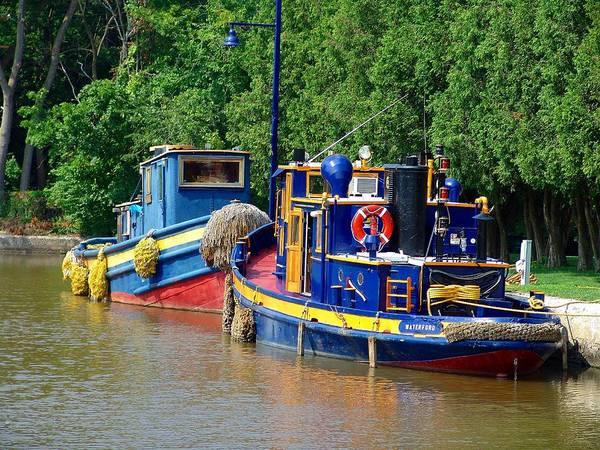 Swan Boats Photograph - Lock Tugs by Eric Swan