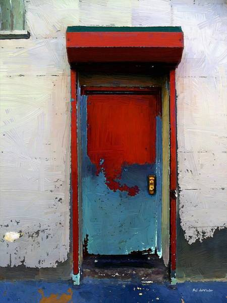Painting - Locked Door, Hell's Kitchen by RC DeWinter