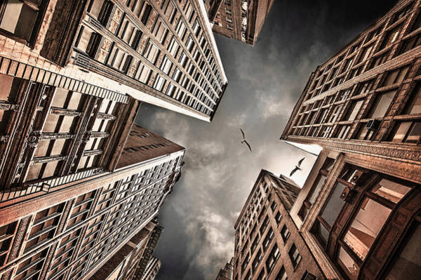Skyscrapers Photograph - Locked In Civilization by Carmit Rozenzvig