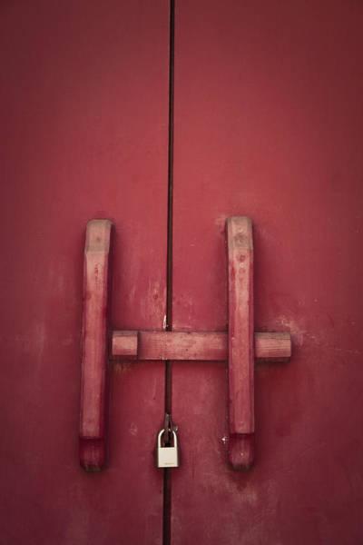 Photograph - Locked by Maria Heyens