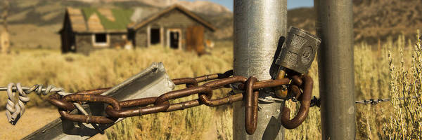 Photograph - Locked Up by Bryant Coffey