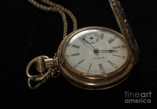 Photograph - Locket Watch by Louise St Romain