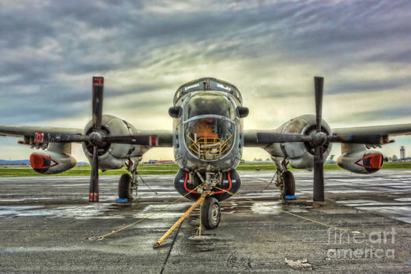 Nuclear Bomber Wall Art - Photograph - Lockheed P-2 Neptune Gunship by Lee Dos Santos