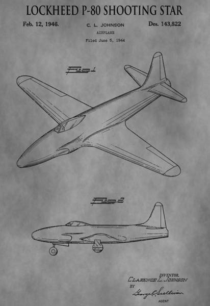 Shooting Mixed Media - Lockheed Patent by Dan Sproul