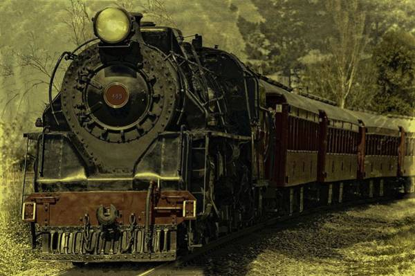 Photograph - Locomotive 499  by Movie Poster Prints