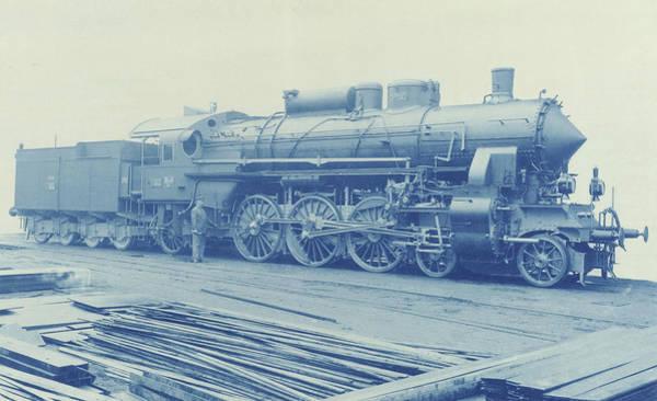 Locomotive Drawing - Locomotive, Anonymous by Artokoloro