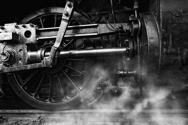 Wall Art - Photograph - Locomotive Breath by Holger Droste