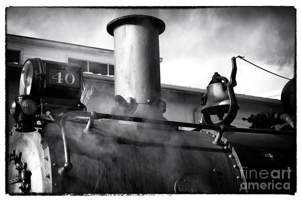 Photograph - Locomotive by John Rizzuto