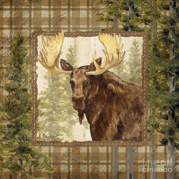 Wall Art - Painting - Lodge Portrait Iv by Paul Brent