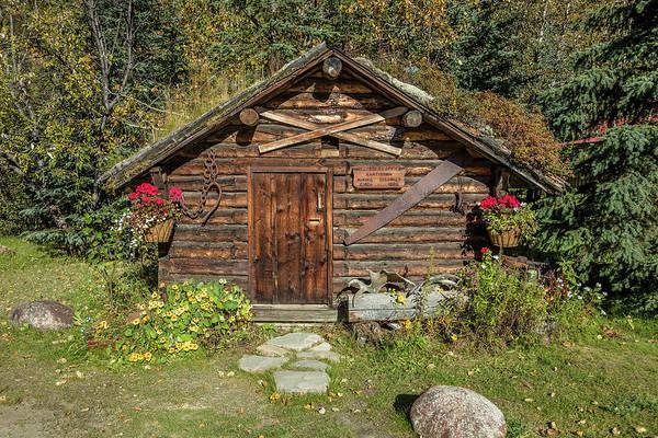 Gold Mine Photograph - Log Cabin Kantishna, Alaska, Mnt by Panoramic Images