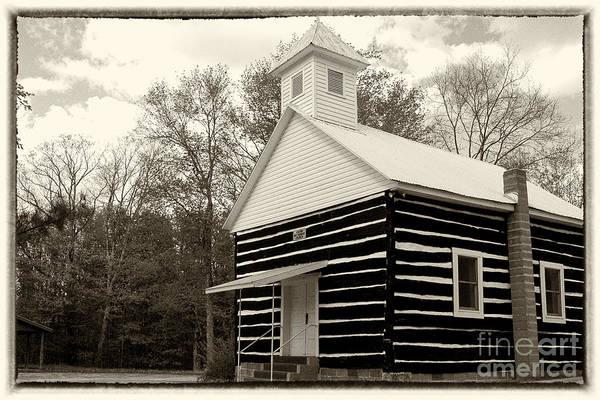 Wall Art - Photograph - Log Church by Thomas R Fletcher