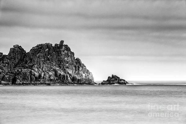 Treen Photograph - Logan Rock Headland by John Farnan