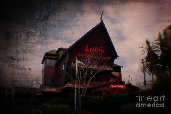 Photograph - Lokis Bar And Grill by Doc Braham