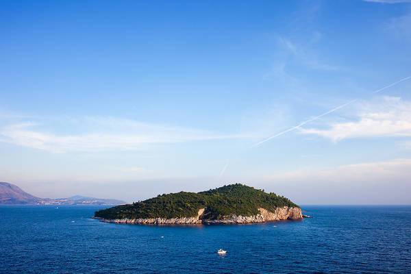 Lokrum Photograph - Lokrum Island On The Adriatic Sea by Artur Bogacki