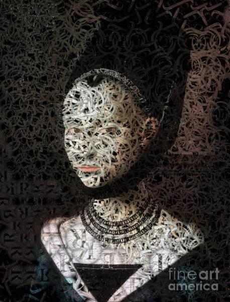 Wall Art - Digital Art - Lola - Creative Portrait Series by Aimelle