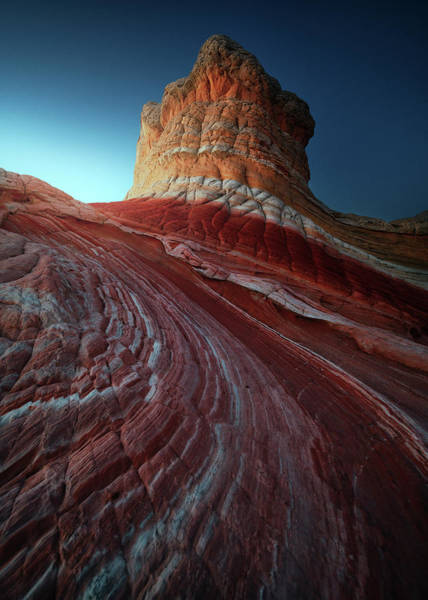 Vermilion Cliffs Wall Art - Photograph - Lollipop Rock by Juan Pablo De