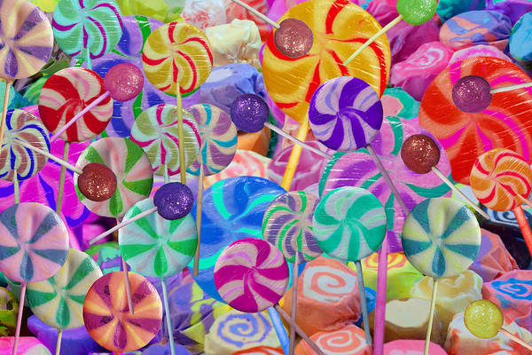 Wall Art - Photograph - Lolly Pop Land by MGL Meiklejohn Graphics Licensing