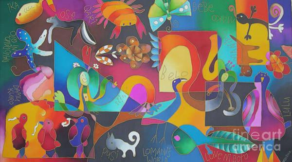 Painting - Lomani's World by Maria Rova
