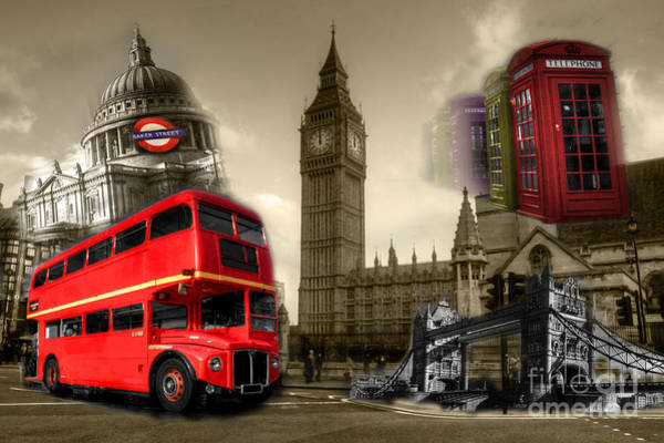Wall Art - Photograph - Londinium  by Rob Hawkins