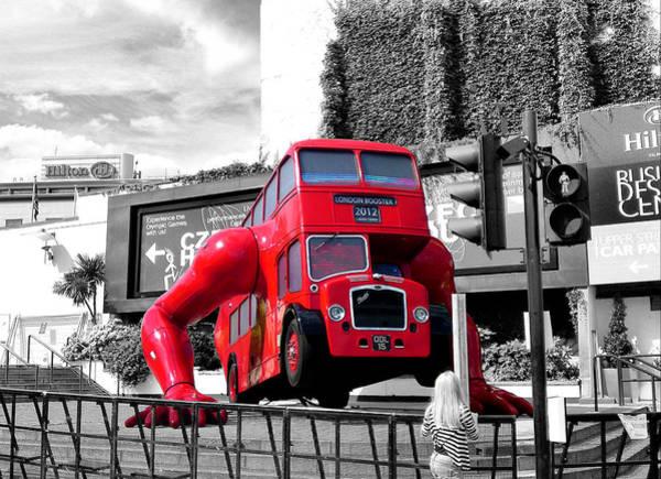 Photograph - London Booster 2012 by Pedro Fernandez